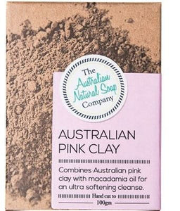 Australian Natural Soap Company - Australian Pink Clay Soap