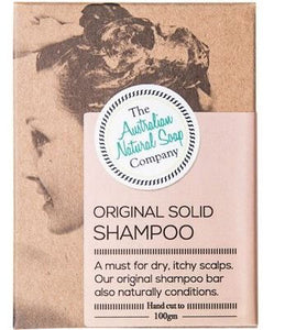 Original Shampoo Bar - Australian Natural Soap Company