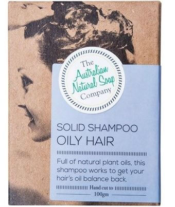 Oily Hair Shampoo Bar - Australian Natural Soap Company