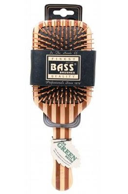 Bass Large Square Wooden Brush