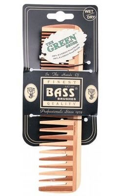Bass Large Wide & Fine Wooden Comb