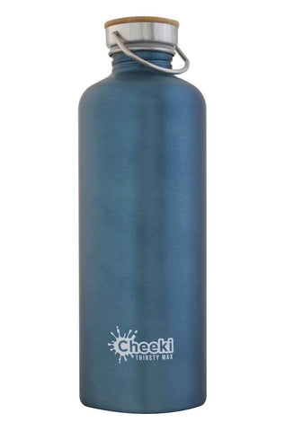 Cheeki 1.6L Thirsty Max Stainless Steel Bottle - Teal