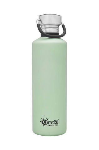 Cheeki 750ml Classic Single Wall Stainless Steel Bottle - Pistachio