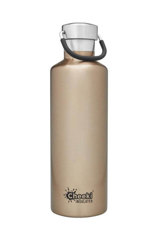 Cheeki 600ml Classic Insulated Stainless Steel Bottle - Champagne