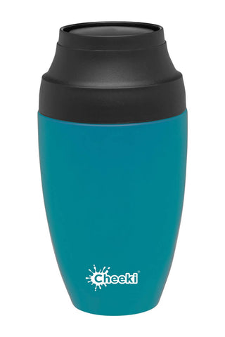 Cheeki 350ml Reusable Coffee Mug - Topaz