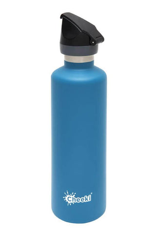 Cheeki 600ml Active Insulated Stainless Steel Bottle - Topaz