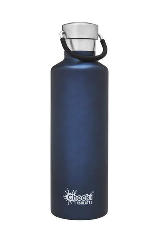Cheeki 600ml Classic Insulated Stainless Steel Bottle - Ocean