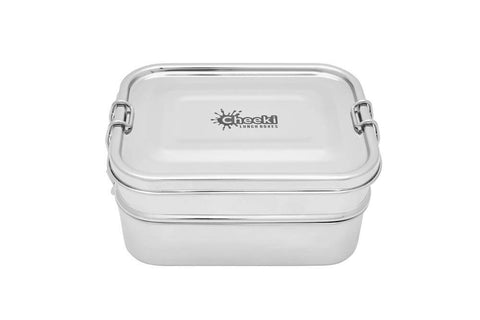 Cheeki - Double Stacker 1L Stainless Steel Lunch Box