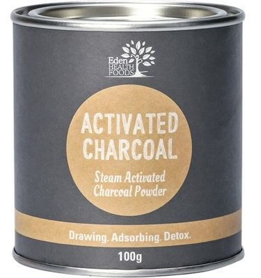 Activated Charcoal Powder -Eden Health Foods