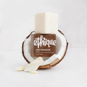 ethique frizz wrangler shampoo bar