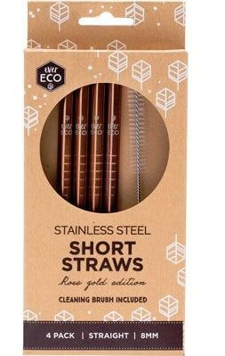 Live Life Green reusable stainless steel straws zero waste