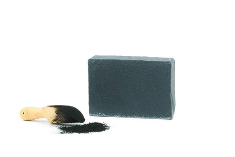 harvest garden activated charcoal bar soap