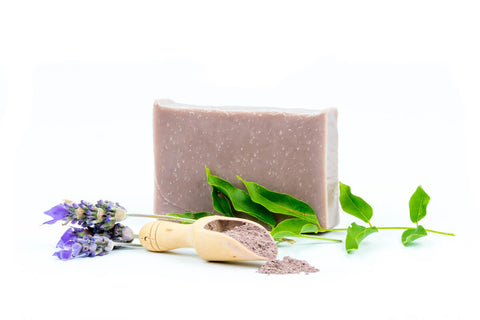 harvest garden lavender & green tea bar soap