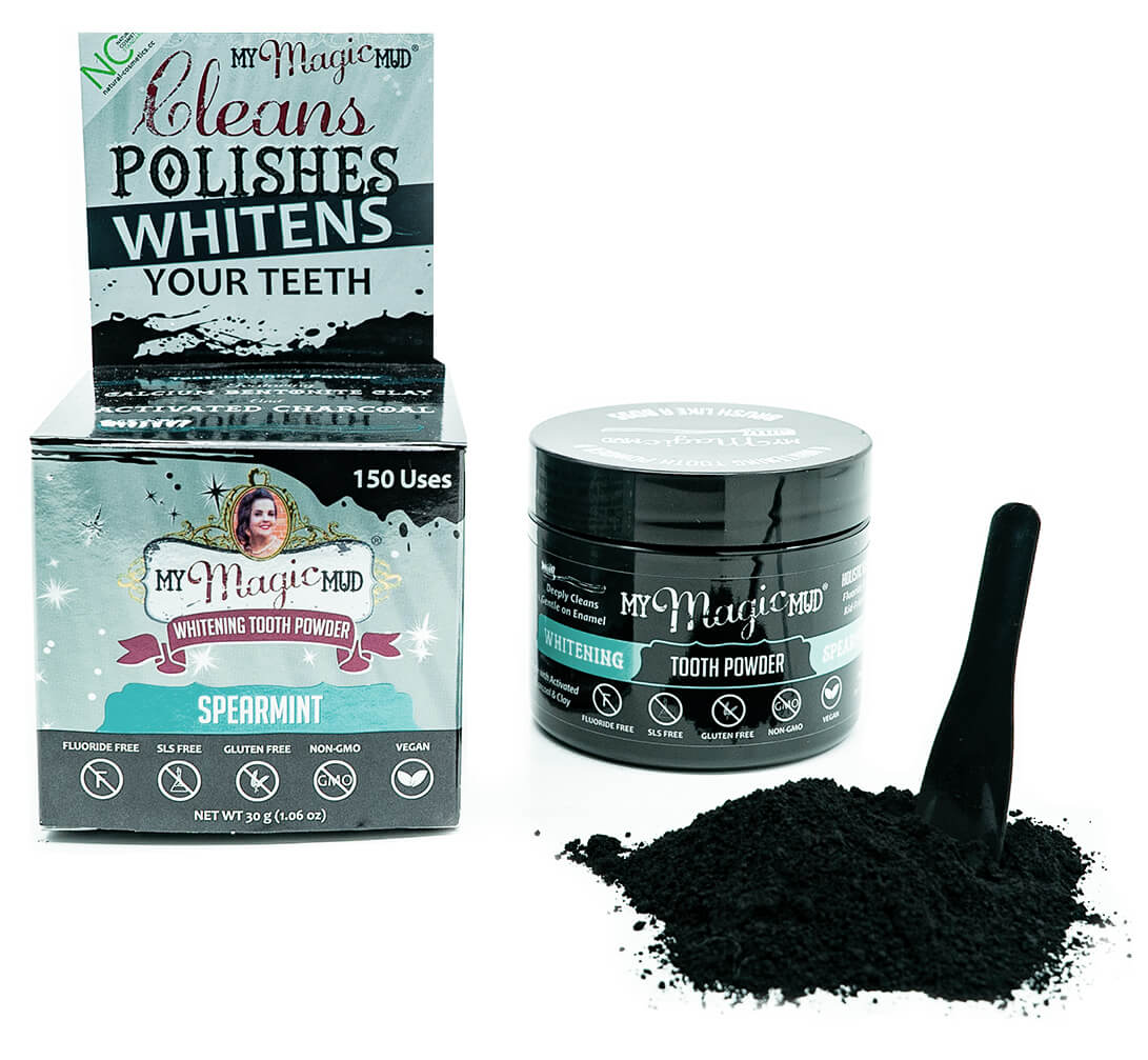 My Magic Mud - Whitening Tooth Powder - Spearmint