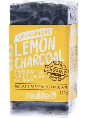 Niulife - Lemon Charcoal Soap