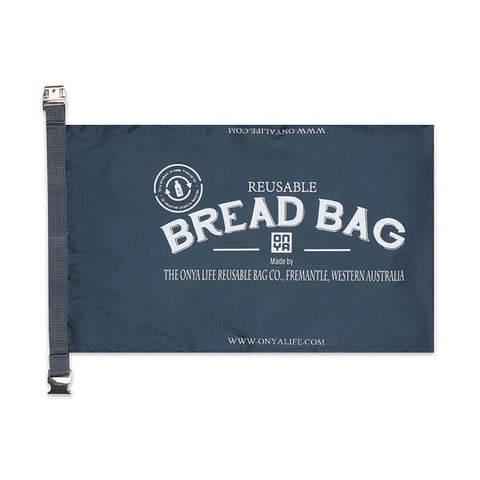 onya bread bag charcoal
