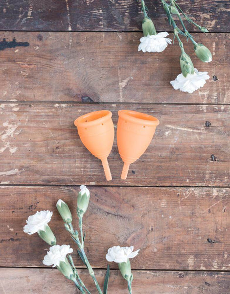 Lunette Menstrual Cup Orange - Model 1