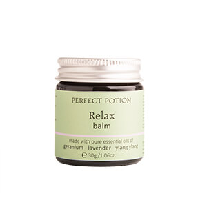 perfect potion relax aromatherapy balm