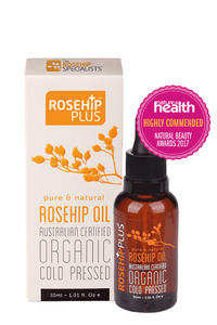 Rosehip Plus - Certified Organic Rosehip Oil