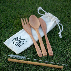 senda reusable cutlery set