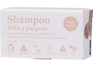 shampoo with a purpose shampoo bar colour treated hair