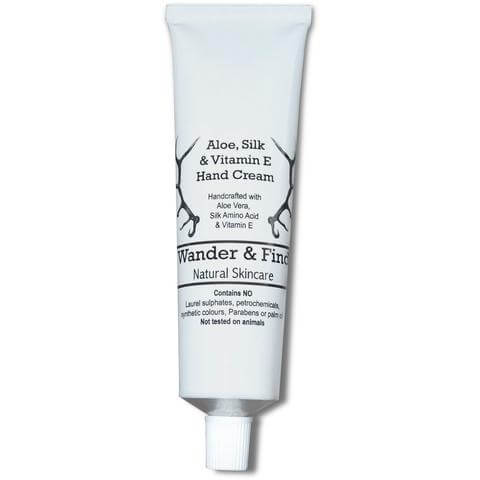 Hand Cream - Aloe, Silk & Vitamin E - Wander & Find