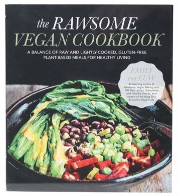 The Rawsome Vegan Cookbook by Emily von Euw