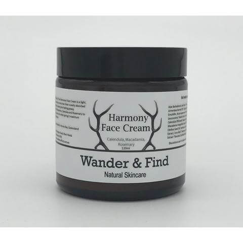 wander & find harmony face cream