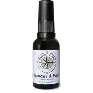 Pre-shave / Beard Oil - Wander & Find