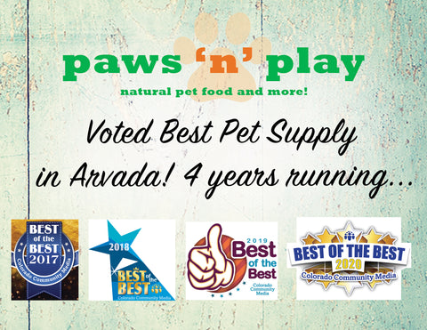 Voted Best Pet Supply 4 Years Running!
