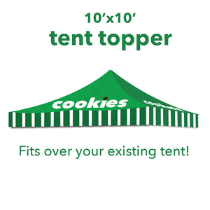 Cookie Seller Tent Topper- 10'x10'