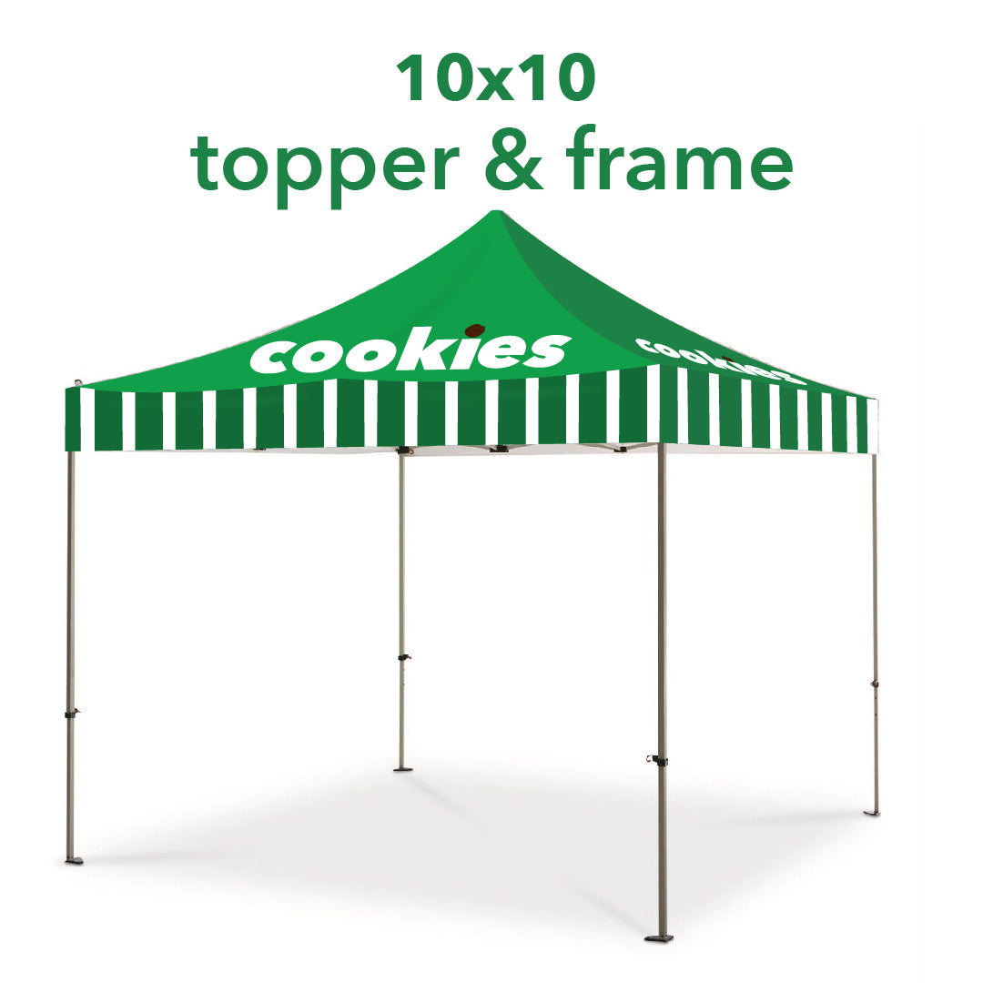 Cookie Seller Pop-Up Tent - 10x10- Free Shipping