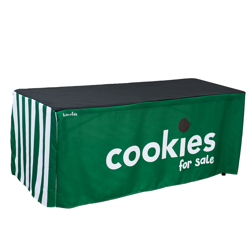 Girl Scout Cookie Table Cloth- Classic Cookie Booth