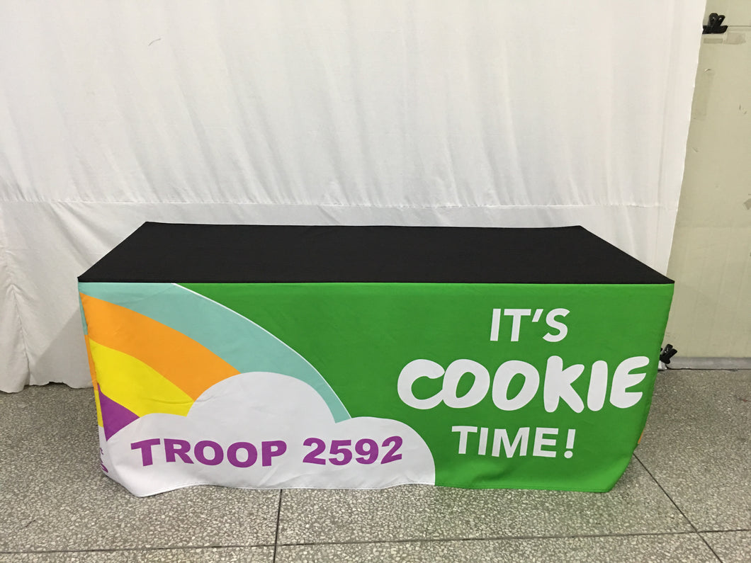 Customized Rainbow Cookie Booth
