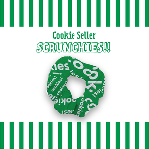Scrunchie 4-pack w/Free Shipping