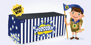 Popcorn Seller Table Cloth