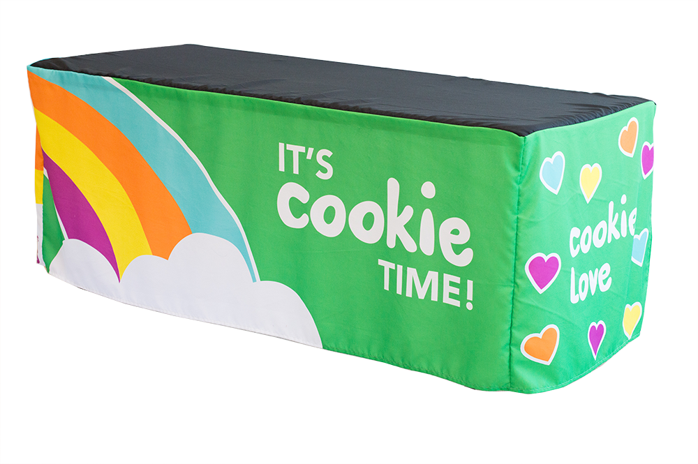 Rainbow Cookie Booth