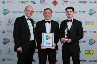 We are Belfast's 'Best New Business'!
