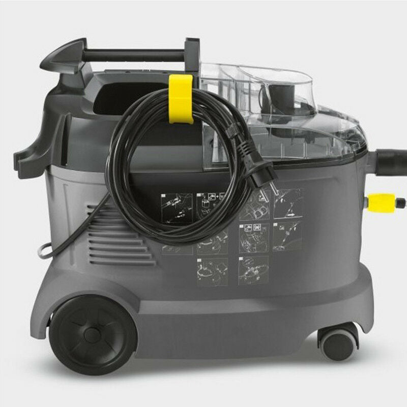 Karcher Puzzi 8/1 C Carpet and Upholstery Cleaner with Hand Nozzle
