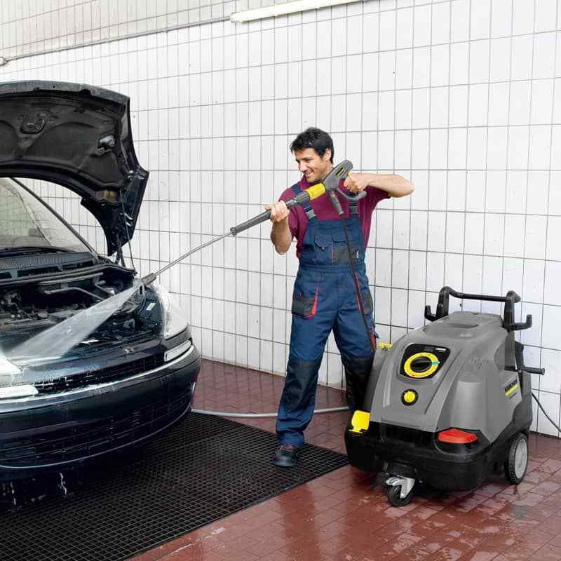 Karcher HDS 6/10-4 C Hot Water Pressure Washer