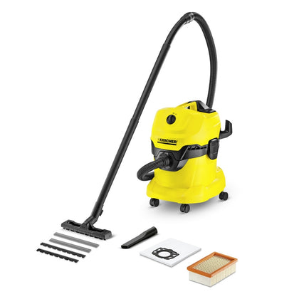 Karcher WD4 Wet and Dry Vacuum Cleaner