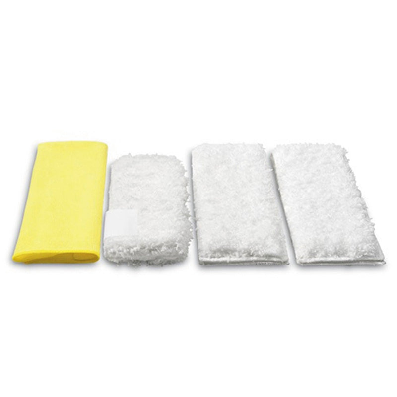 Karcher Microfibre Cloths Set Steam and Clean Kitchen (Pk of 4)