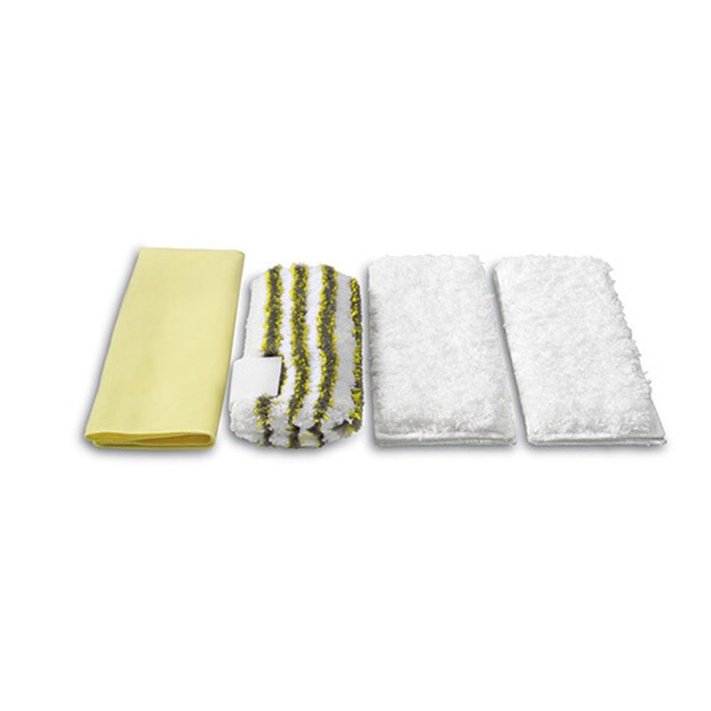 Karcher Microfibre Cloths Set Steam and Clean Bathroom (Pk of 4)
