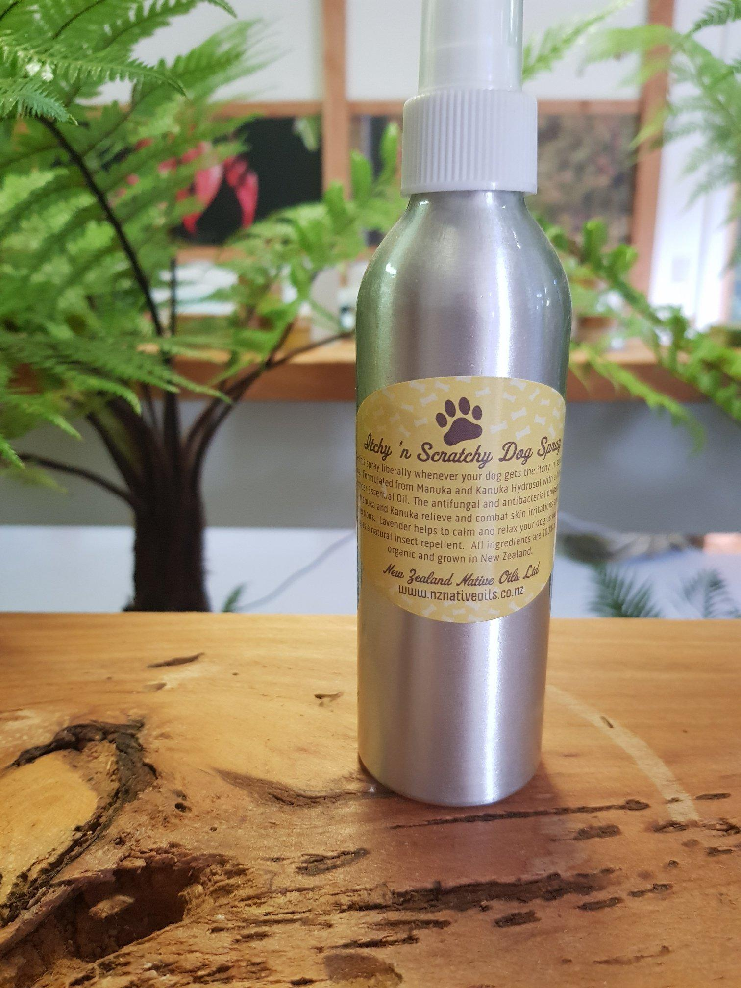 Itchy 'n Scratchy Spray-Dog Product-NZ Native Oils Ltd