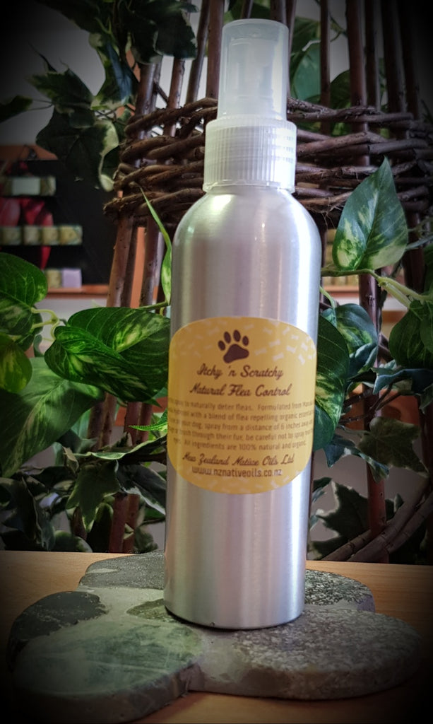 Itchy 'n Scratchy Natural Flea Repellent Spray-Dog Product-NZ Native Oils Ltd
