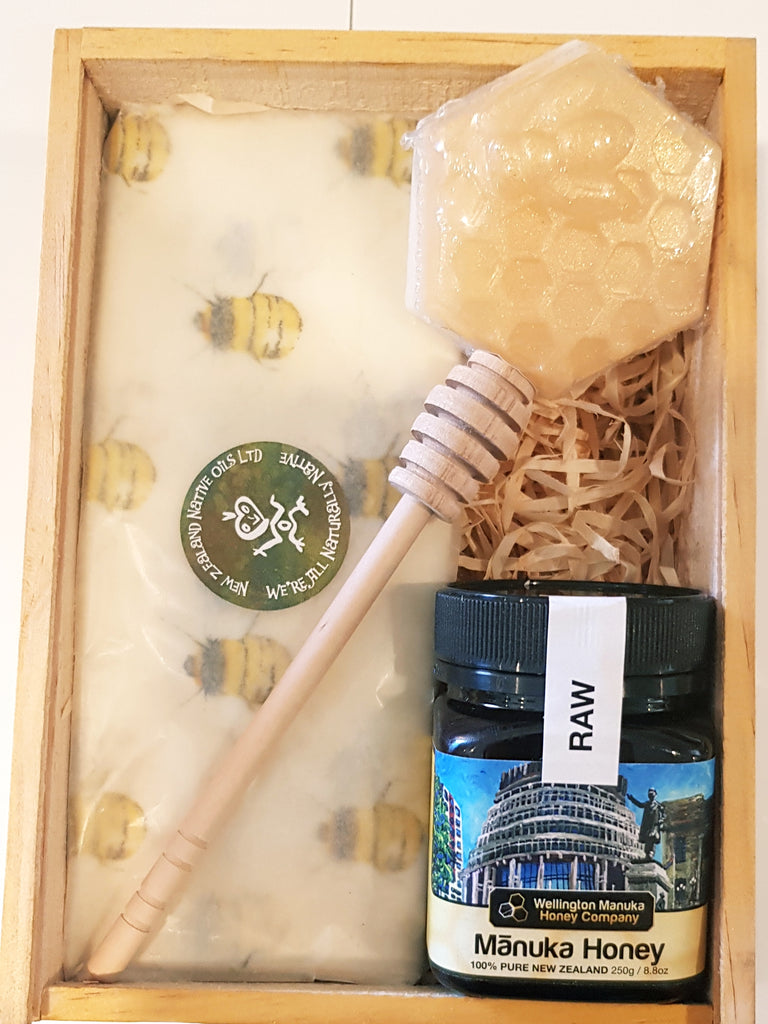 Raw Manuka Honey Gift Box-NZ Native Oils Ltd