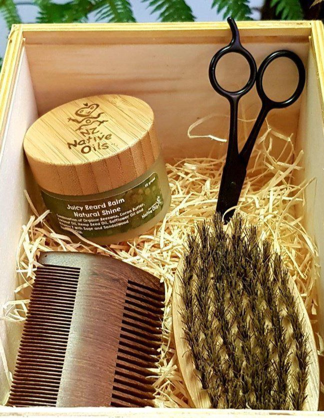 Men's Beard Grooming Kit-NZ Native Oils Ltd