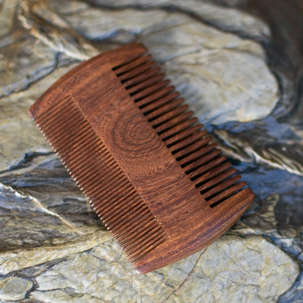 Sandalwood Double Sided Comb-NZ Native Oils Ltd