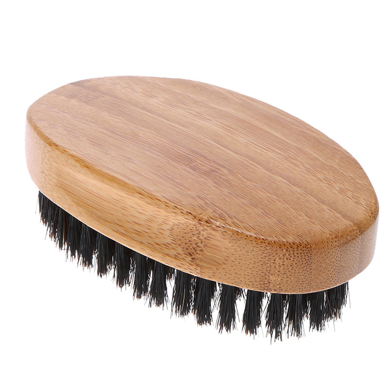 Men's Beech and Boar Bristle Hair and Beard Brush-NZ Native Oils Ltd