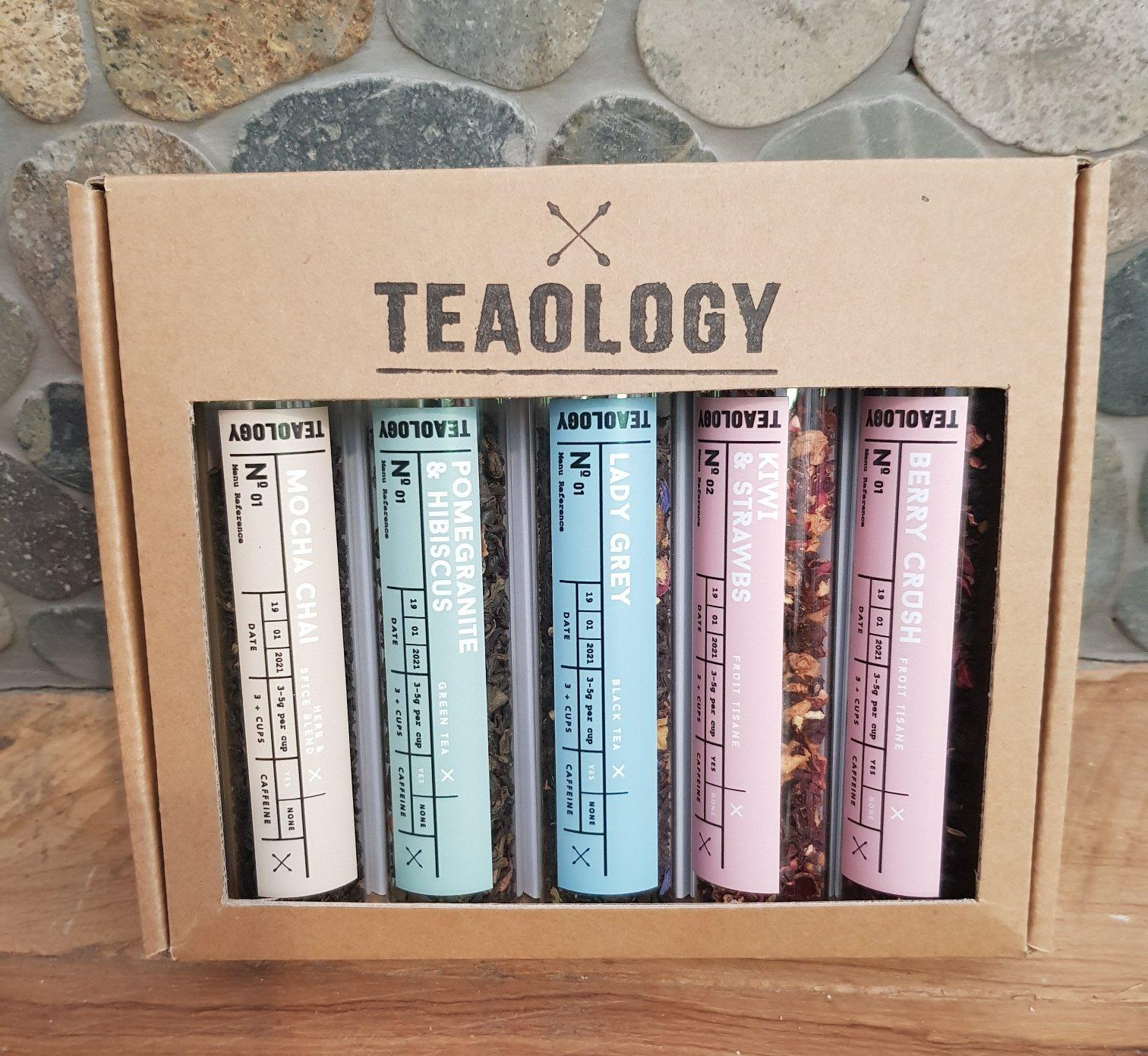 Teaology Tea-ser Gift Box 1-NZ Native Oils Ltd